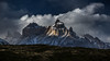 Late afternoon in Torres del Paine (Piotr_PopUp) Tags: torresdelpaine cuernos patagonia chile ultimaesperanza latinamerica southamerica landscape sunset nature mountain mountains cloud clouds