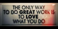 Great love (Melissa Maples) Tags: antalya turkey türkiye asia 土耳其 apple iphone iphonex cameraphone thesudd café widescreen letterbox lightleak text sign theonlywaytodogreatwork istolovewhatyoudo