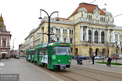 Oradea (RO) (Robert Leichsenring) Tags: rumänien romania oradea tramway tramwaj tramvaj tram strassenbahn strasenbahn streetcar tatra tatrawagen magdeburg