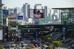 attention (matteroffactSH) Tags: korea south southkorea seoul asia urban megacity huge buildings architecture gangnam jong no jongno nikon d850 andrew rochfort andrewrochfort matteroffact spring 2018 dense density district future futuristic modern