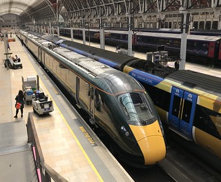 GWR Class 800 (800035) at London Paddington
