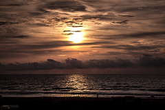 Virginia Beach Sunrise (Virginia) (Andrea Moscato) Tags: andreamoscato america statiuniti usa unitedstates us view vivid vista shadow sky sea seascape seashore beach spiaggia shore ombre ombra orange ocean oceano onde water waves acqua atlantic nature natura nuvole natural naturale cielo clouds light landscape luce morning sun sunrise sunshine reflection riflesso dark darkness alba mattino