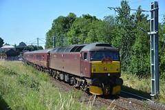 "West Coast Railway Company Class 47/0, 47245 (37190 ""Dalzell"") Tags: wcrc westcoastrailwaycompany maroondip brush sulzer type4 duff spoon class47 class470 47245 d1922 thelakelander lakedistrict oxenholme"