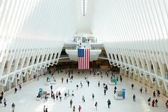 Happy Birthday, America. (ByteForByte) Tags: usa americanflag america wtc oculus newyork nyc newyorkcity ny manhattan worldtradecenter