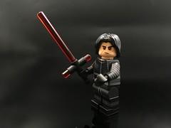Living Brick x Legend C. MOC  - Dark Duo (Legend C.MOC) Tags: star wars lego custom minifigure force awaken last jedi luke kylo ren snoke skywalker rey