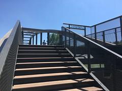 IMG_3672 (Atelier VongDC) Tags: pdc passerelle chessy dampmart vongdc footbridge site marne architect metal arc val deurope structurerehabilitation 2018 dhuys charpente metallique paysage