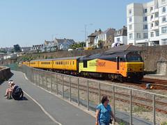 67027 & 67023 Penzance (7) (Marky7890) Tags: networkrail 67023 67027 class67 1q18 penzance railway cornwall cornishmainline train