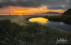 Beach (Jami Bollschweiler Photography) Tags: oregon beach landscape cape kiwanda utah photographer nikon sunset water waves