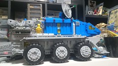 Neo classic space Exploration Command rover. (aeturnus_79) Tags: space lego neoclassicspace classicspace rover exploration