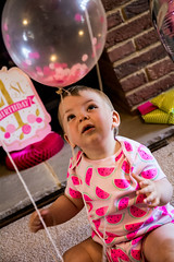 Baby Zayla-3 (Andy barclay) Tags: baby happy birthday 1st toddler girl cake smash one first smile messy portrait young pink