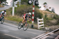 Whizzing down hill (heidithomson) Tags: nzracing cyclesouthland cycle race cycling biking southland otago roadrace sport nz newzealand outdoor exercise