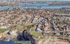 26 Macdonald Street, Vaucluse NSW