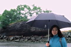 Jen and the overgrown ship (edwardcgonzales) Tags: velvia velvia50 fuji fujifilm slidefilm film 35mm analog 50mm 50mmf14 canonfd50mmf14 canonfd 50mmf18fd