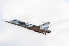 Saab JAS 39C Gripen - Swedish Air Force (Billabongmac) Tags: flickr 500px kempsford england unitedkingdom gb