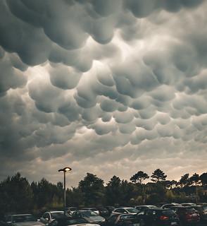 Strange sky
