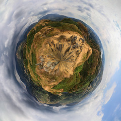 Little Planet from England (gabormatesz) Tags: loughrigg england unitedkingdom gb 360degree 360degreepanorama panorama panoramaexperience nature naturephotography roundworld canon canon80d 1018mm