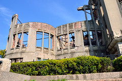 A-Bomb Dome (Gedsman) Tags: japan asia northeastasia eastasia traditional culture cultural shinto buddhist tower neon lights travel beauty architecture island temple photography hiroshima miyajima sea seto inland castle atomicbomb abomb atomic bomb