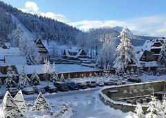 Zakopane-November'17 (56) (Silvia Inacio) Tags: zakopane poland polónia polska snow neve house casa tree árvore hotel mountain montanha nosal