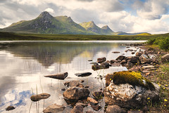 Lochan Hakel III (Paul C Stokes) Tags: loch lochan lake hakel benloyal ben loyal loahanhakel mountain scotland tongue northcoast500 northcoast north coast 500 nc500 sony sonya7r2 a7r2 zeiss1635 zeiss 1635mm mountains range sky