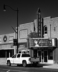 Spamalot (Orson Wagon) Tags: oklahoma neon sign theater small city town movie palace film hollywood cinema
