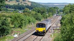 Refurbished class 150 in Edale (Steel Rails) Tags: edale derbyshire peak district hope valley line railway train diesel