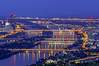 Vienna Danube area