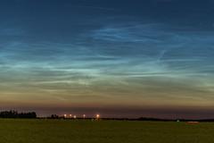 Noctilucent Clouds - July 8/9 - Sturgeon Co, Alta (WherezJeff) Tags: 2018 alberta canada canola nlc polarmesosphericclouds sturgeoncounty summer cloud noctilucent ca d850