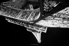 Nothing melts (.KiLTRo.) Tags: paris îledefrance france fr kiltro eiffeltower tower eiffel structure steel iron geometry architecture pov lowpov wideangle bw blackandwhite monochrome city urban icon