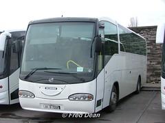 Bus Eireann SI73 (01D72091). (Fred Dean Jnr) Tags: november2004 broadstone broadstonedepotdublin buseireannbroadstonedepot scania irizar century dublin exbuseireann si73 01d72091