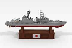 JDS Asagiri (DD-151) (ABS Shipyards) Tags: lego ship navy naval destroyer micro jmsdf japanese maritme self defense force jds asagiri asroc harpoon sea sparrow