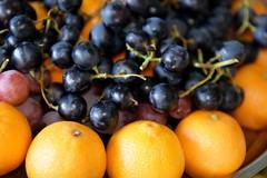 Mandarins and grapes (*Amanda Richards) Tags: edible food treats birthday party menu mandarin grapes fruit