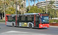Alicante, Plaza de los Luceros 05.12.2017 (The STB) Tags: citaroiii bus autobus autobús busse alicante alacant publictransport öpnv citytransport transportealicantemetropolitano tam