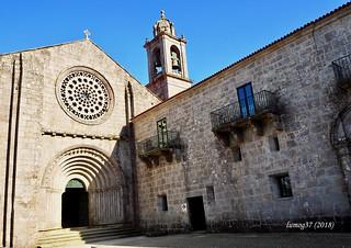 Iglesia del Monasterio de Armenteira.