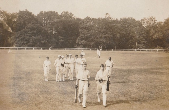 Cricket Pitch, 1920s
