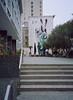 San Francisco (bior) Tags: sanfrancisco fujifilmga645zi mediumformat 120 6x45cm 645 cinestill50d cinestill street sidewalk mural civic