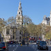 Royal Courts of Justice und die Kirche St. Clement Danes in London