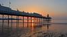 Sun rise at Paignton Pier (Hoovering_crompton) Tags: pier sun rise sunrise paignton south devon sky beach nikon d3300 landscape seascape english riviera