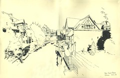 Pont Saint-Pierre - Colmar (lolo wagner) Tags: croquis sketch alsace urbansketchers usk colmar