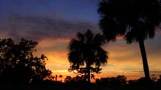 Sunset May sixth