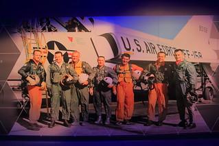 Mercury 7 Astronauts - Astronaut Hall of Fame, Kennedy Space Center, Florida