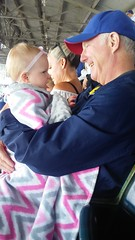"Dani with Grandpa Miller at the Cubs Game • <a style=""font-size:0.8em;"" href=""http://www.flickr.com/photos/109120354@N07/41320388830/"" target=""_blank"">View on Flickr</a>"