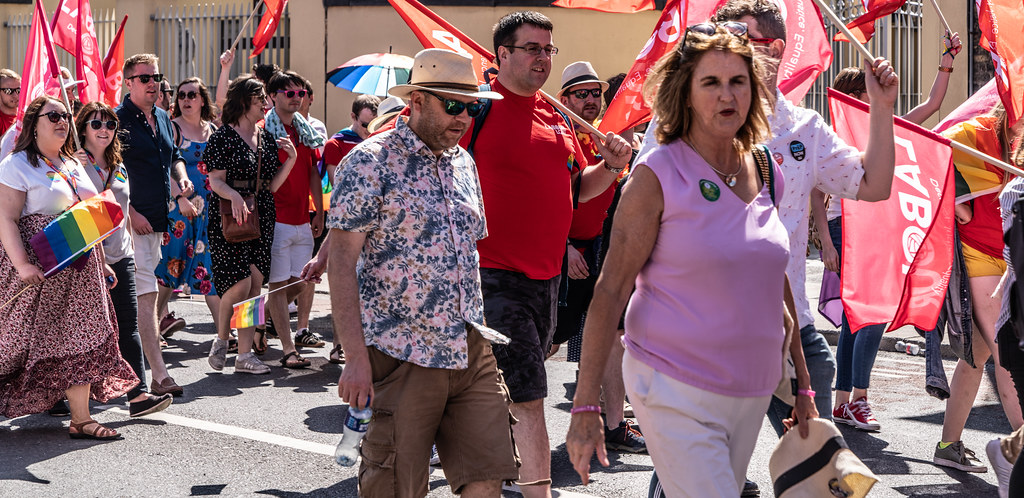 ABOUT SIXTY THOUSAND TOOK PART IN THE DUBLIN LGBTI+ PARADE TODAY[ SATURDAY 30 JUNE 2018] X-100213