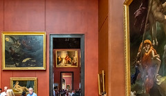 3 Rooms of art in one shot (Scottmh) Tags: 2018 europe paris art d7100 france june louvre musee museum nikon summer travel