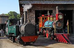 Omaha Zoo Steam Locomotives (jterry618) Tags: omahazoorailroad henrydoorlyzoo omaha nebraska steamlocomotive steamengine narrowgauge steamtrain