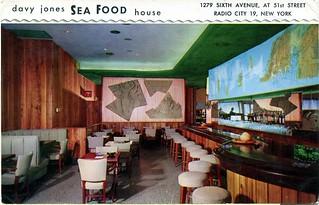 Davy Jones Sea Food House, New York, NY