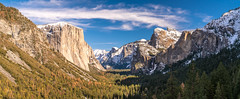 Yosemite NP Snow Panorama! Fine Art Yosemite National Park Winter Snow Landscape Photography! Valley View Merced River! Sony A7R II Mirrorless & Carl Zeiss Vario-Tessar T* FE 16-35mm f/4 ZA OSS Lens SEL1635Z! Scenic Yosemite California Winter! (45SURF Hero's Odyssey Mythology Landscapes & Godde) Tags: yosemite np snow fine art national park winter landscape photography valley view merced river sony a7r ii mirrorless carl zeiss variotessar t fe 1635mm f4 za oss lens sel1635z scenic california