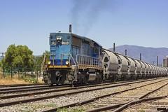 Transap 3502 | Estación Talagante (Felipe Radrigán) Tags: tren locomotora clinker estacion transap 3502 d3502 talagante santiago quilicura cargo ferrocarril train railroad railway locomotive chile emd sd50