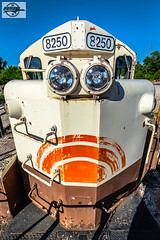 Frog Eyes at Baldwin City, KS (Mo-Pump) Tags: train railroad railfan railroader railway railroading railroads locomotive