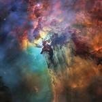 Hubble's 28th birthday picture: The Lagoon Nebula thumbnail