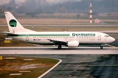 Germania | Boeing 737-300 | D-AGEF | Dusseldorf International (Dennis HKG) Tags: germania germany gmi st aircraft airplane airport plane planespotting dusseldorf eddl dus boeing 737 737300 boeing737 boeing737300 dagef